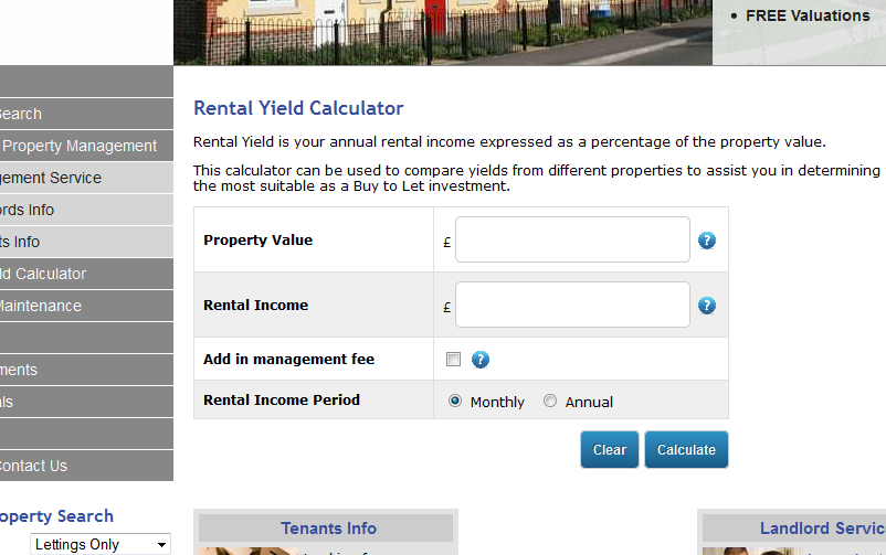 Rental Yield Calculator